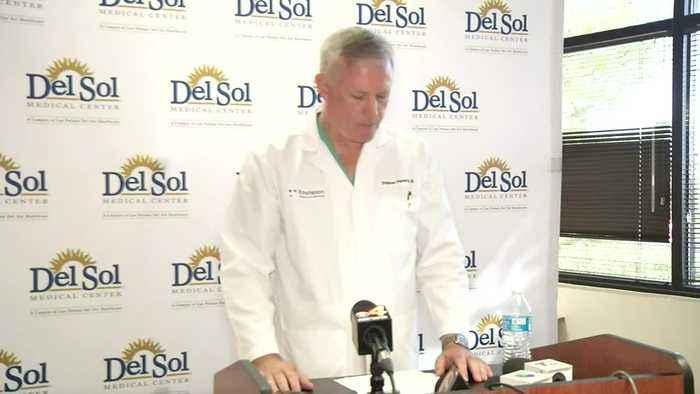 Doctors update conditions of El Paso victims