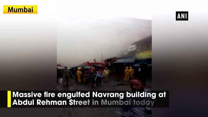Fire breaks out at Navrang building in Mumbai