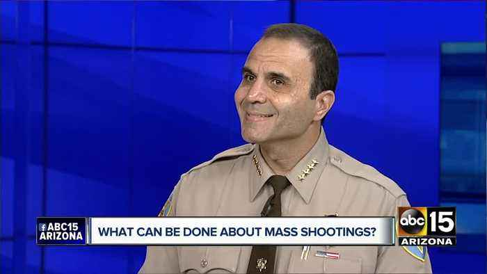 Maricopa County Sheriff Paul Penzone speaks out on mass shootings