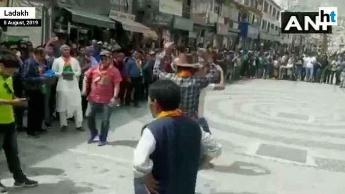 Article 370 scrapped: Ladakh celebrates meeting of 'long pending demand'