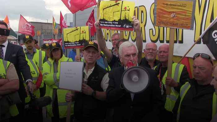 John McDonnell: Boris Johnson has failed Belfast shipyard workers