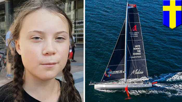 Greta Thunberg will sail to New York for UN climate summit