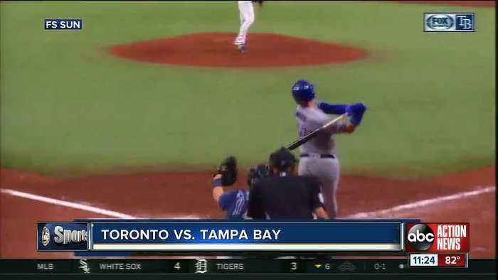 Jacob Waguespack helps Toronto Blue Jays end Tampa bay Rays' 6-game winning streak