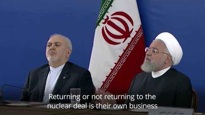 Iran tells US to lift sanctions if it wants to talk