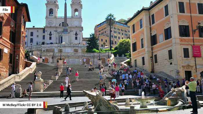 In Rome, Tourists Have Been Banned From Sitting On Spanish Steps