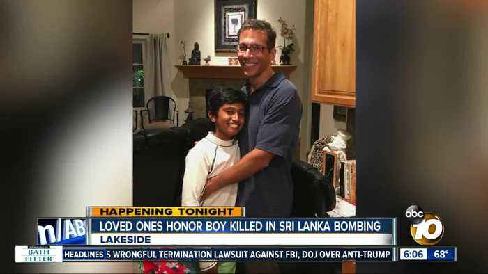 American boy killed in Sri Lanka bombing to be remembered