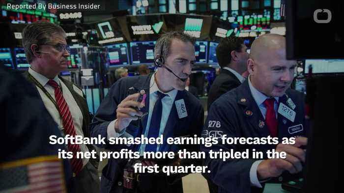 SoftBank Beats All Profit Expectations