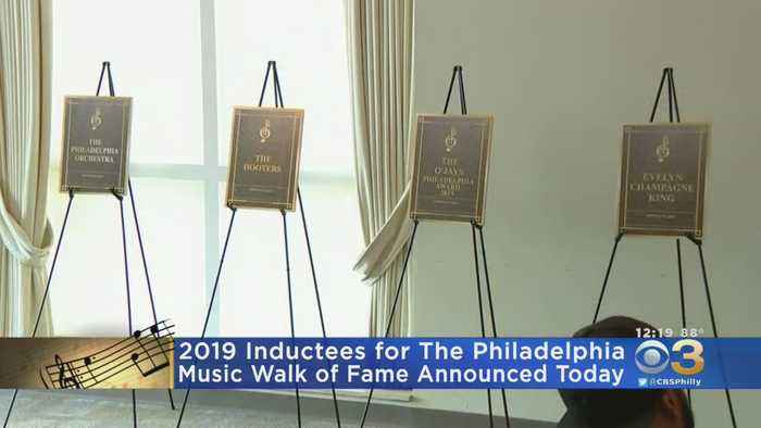 2019 Inductees For The Philadelphia Music Walk Of Fame Announced