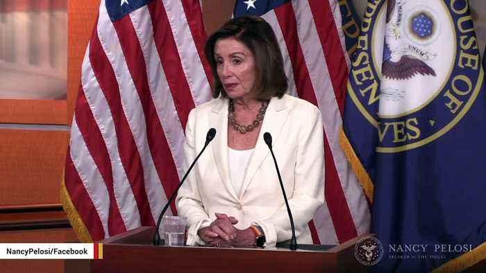 Pelosi Urges Trump To Call Senate Back Into Session For Gun Control Bill