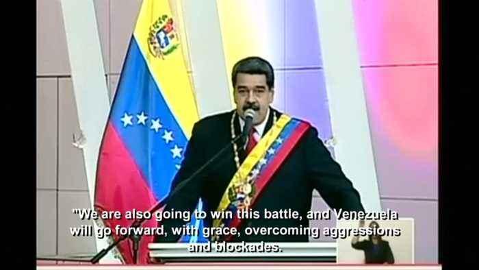 Venezuela's Maduro defiant in face of US sanctions