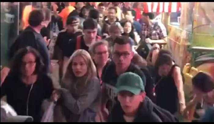 'Gunshot like' noises create panic in New York's Times Square