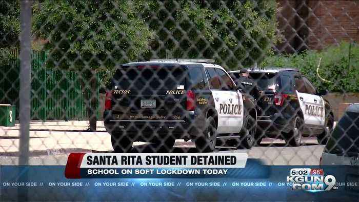 Weapon found, student detained at Santa Rita High School