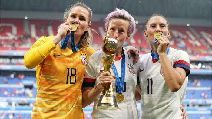 U.S. Soccer Hires Lobbyists To Argue That Women's Team Is Paid Fairly