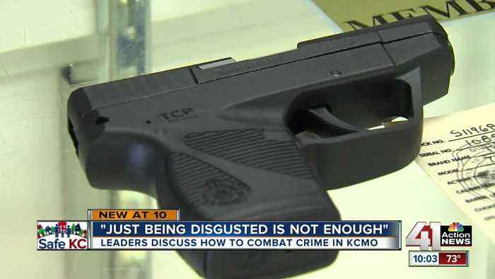 KC civic leaders discuss solutions to gun violence