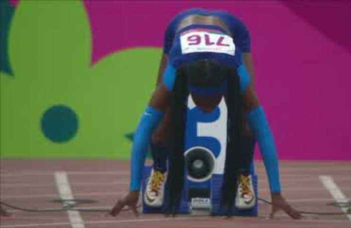 Sprint queen Thompson wins gold at Pan Ams
