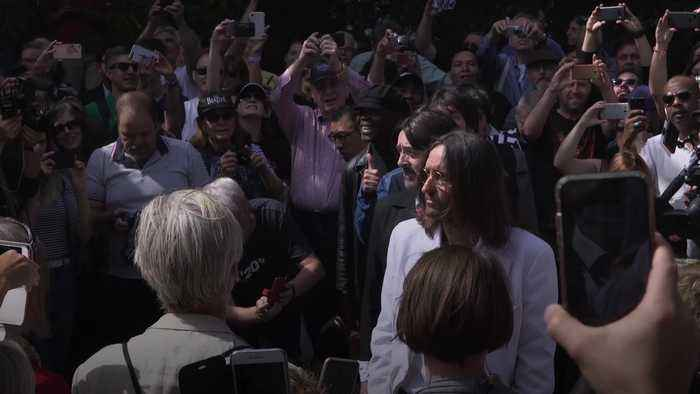 Beatlemania hits Abbey Road as fans celebrate 50th anniversary of famous album cover