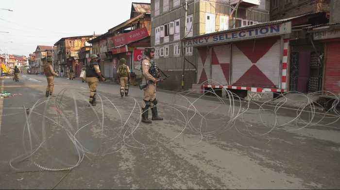 Indian-administered Kashmir cut off from world