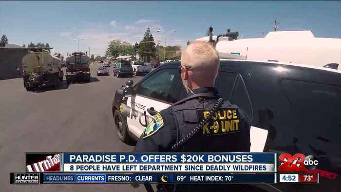 Paradise Police Department looking to hire officers, offering $20k signing bonus