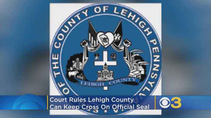 Lehigh County Can Keep Cross On Seal, Court Rules