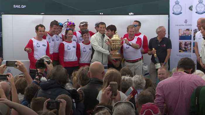 Kate and William clash with celebrities at King's Cup regatta