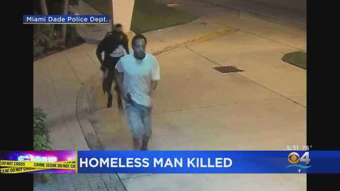 Surveillance Video Shows Clear Images Of Suspects Accused Of Killing Homeless Man In NW Miami-Dade