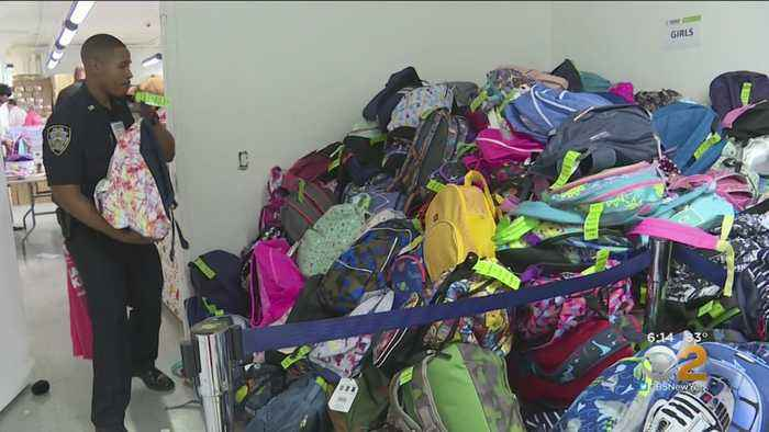 Operation Backpack Helping Shelter Kids Go Back To School