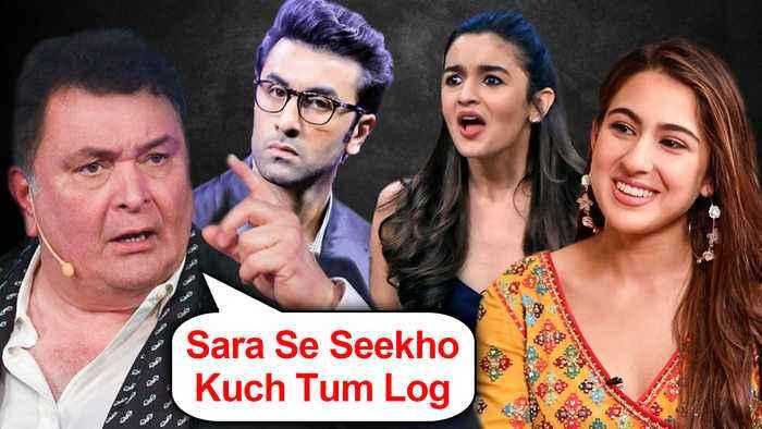 Rishi Kapoor ANGRY On Stars, PRAISES Sara Ali Khan For Her Airport Look