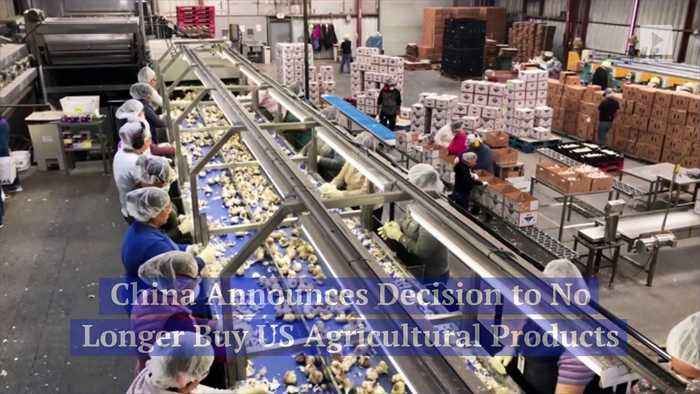 China Announces Decision to No Longer Buy US Agricultural Products