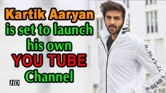 Kartik Aaryan is set to launch his own YOU TUBE Channel