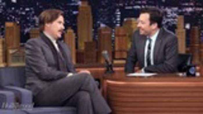 Will Ferrell Reprises Role as 'Anchorman' to Promote  Ron Burgundy Podcast | THR News