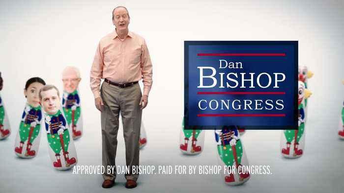 Dan Bishop Campaign Ad - I Will Fight These Clowns For You
