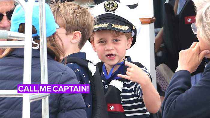 Prince George is the real winner after parents lose regatta