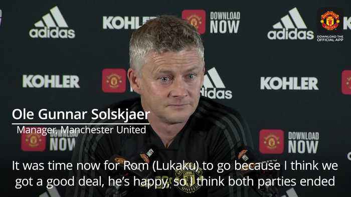 Solskjaer: It was time for Lukaku to go