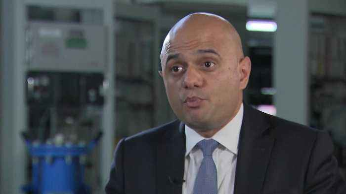 Chancellor Sajid Javid not worried despite shrinking economy