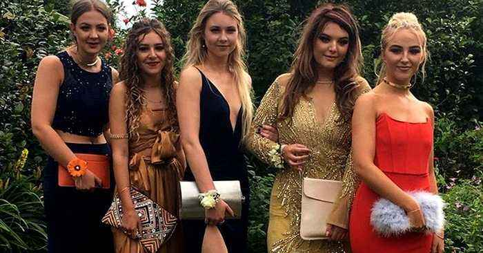 This One Hidden Detail In A Girl's Prom Photos Is Sending The World Mad!