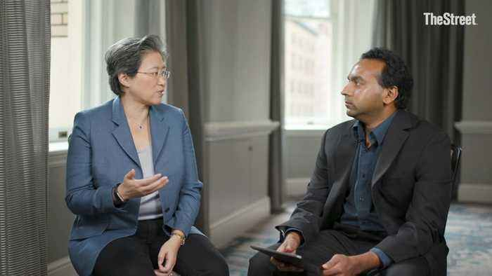 AMD CEO Lisa Su Tells TheStreet Why Her C-Suite Journey Is Far From Over