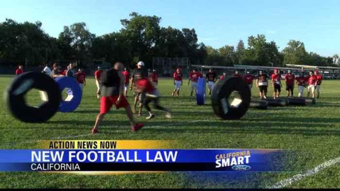 New California football law