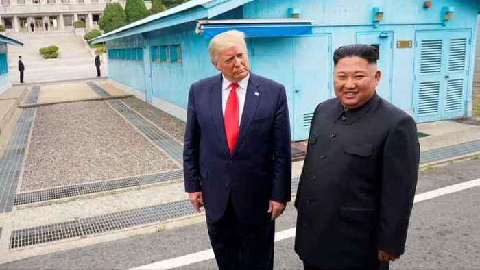 Trump says NK's Kim sent 'very beautiful letter'
