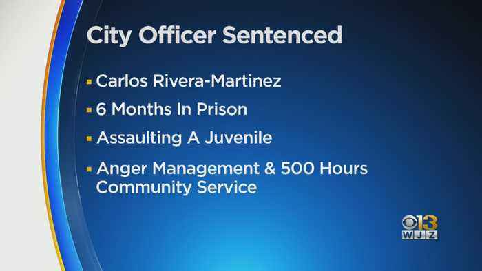 Baltimore Police Officer Sentenced To Federal Prison For Assaulting Juvenile Victim In Front Of City Hall