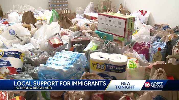 Local residents offer support for immigrants