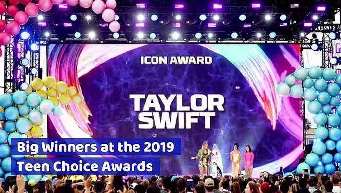 Big Winners at the 2019 Teen Choice Awards