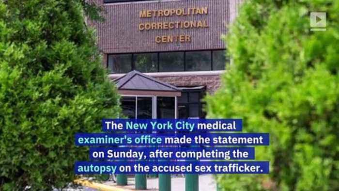 Jeffrey Epstein's Cause of Death Awaits 'Further Information'