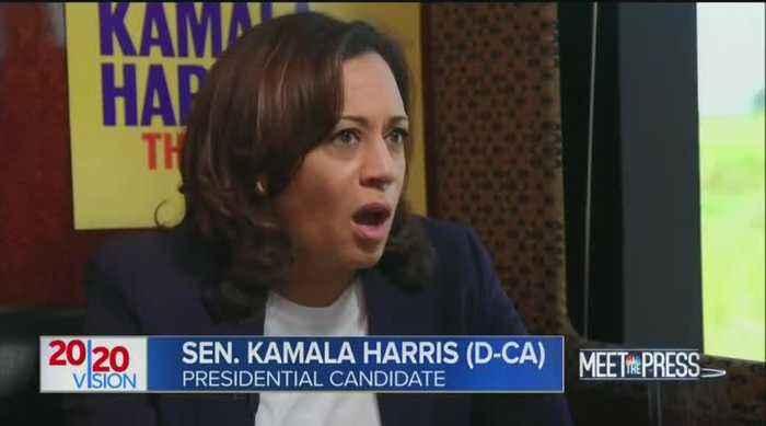 Kamala Harris slams Trump for 'campaign on terror' in ICE raids