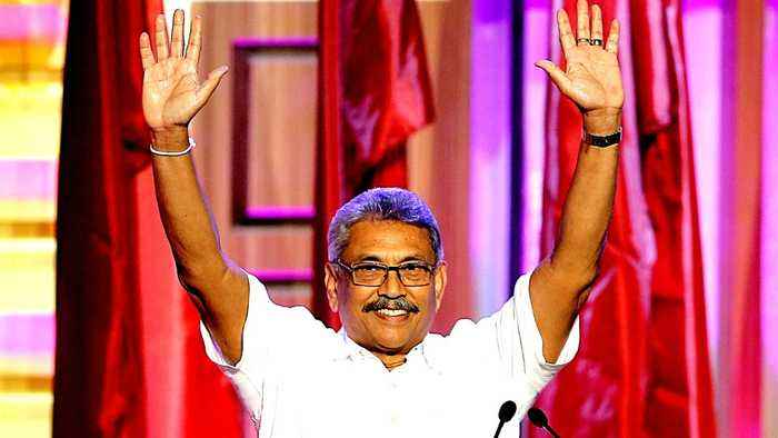 Gotabaya Rajapaksa launches Sri Lanka presidential bid