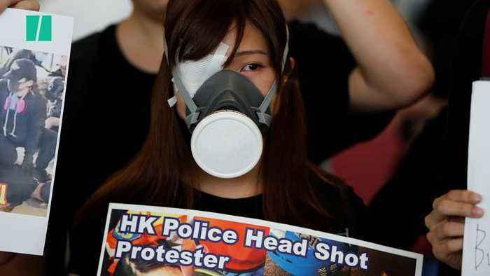 Hong Kong Protests Grow Increasingly Violent As Travel Disruptions Continue