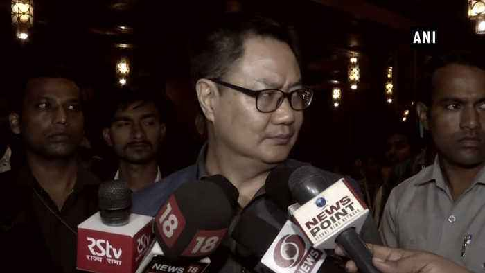 'Govt nod must for bilateral matches with Pakistan': Sports Minister Rijiju