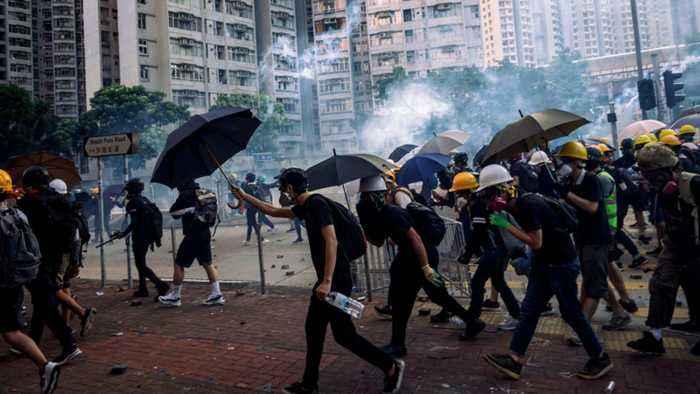 Analysis: China sees 'signs of terrorism' in Hong Kong protests