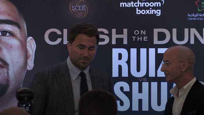 Eddie Hearn: Anthony Joshua rematch could change the sport forever
