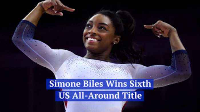 Simone Biles Can't Stop Winning