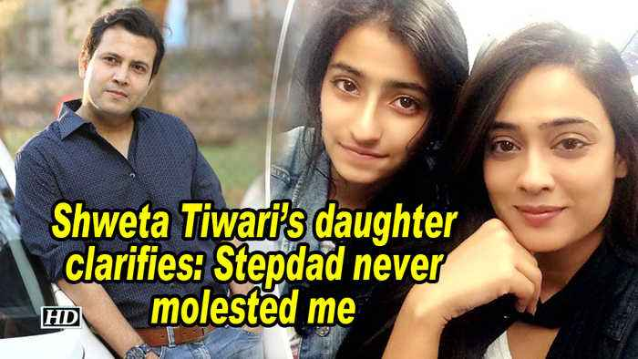 Shweta Tiwari's daughter clarifies: Stepdad never molested me